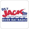 KPKR - 95.7 Jack FM River Rat Radio hören
